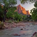 Watchman, národní park Zion