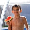 Honza s melounem