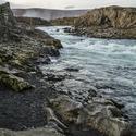 Mrazivé ráno u Goðafossu