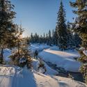 Jizerky ve snežnicích
