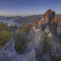 Ráno na Súľovských skalách...