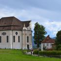 Poutní kostel ve Wiesu, Bavorsko