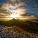 Západ slunce na Brníku