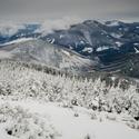 Zimní výhled na beskydské velikány