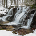 Poniklý vodopád