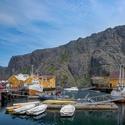Rybářská vesnice - Nusfjord