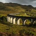 Osvětlený viadukt