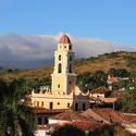 kostel ve městě Trinidad
