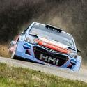 Hyundai i20 WRC, A. Tlusťák - I. Vybíral, Rally sprint Kopná 2018