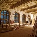 Z rekonstrukce Národního muzea
