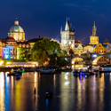 Navalis v centru Prahy