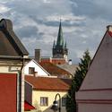 Domy a dvory historického jadra v Prešove