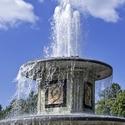 Dvě fontány
