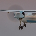 De Havilland Kanada DHC-8-400 na přistání