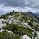 Vickov Stup, pohoří Mosor v Chorvatsku