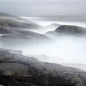 Norsko Lofoty vlny skoro 10m