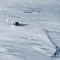 V ledovém  sevření