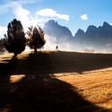 podzim na Alpe di Siusi