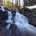 Vodopád na Bystrém potoce