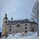 Kostel se skleněnou střechou...