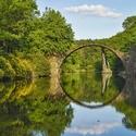 Ďábelský most - Kromlau (Německo)