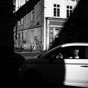 Ranní jízda ulicemi města pražského