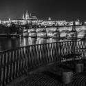 Pražský hrad z Novotného lávky