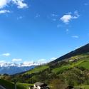 S pumpičkou Alpami