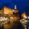 Noční zámek Český Krumlov