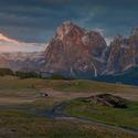 Noční Alpe de Siusi