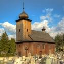 dřevěný kostel - Albrechtice