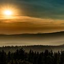 Výhled z Borůvkové hory