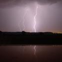 bouře...