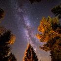 Mléčná dráha nad Lipnem