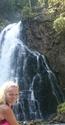 Gollingerův vodopád a místní divoženka