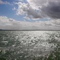 odraz v mořské hladině