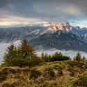 Alpy v zahalení