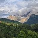 Po bouři v Dolomitech