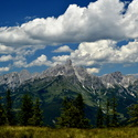 výhled z hory Rossbrand