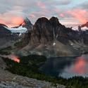 Sunburst Peak Sunrise