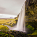 Vodopád Seljalandsfoss