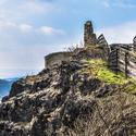 Vyhlídka na hradě Střekov