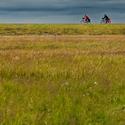Bikeři mezi nebem a zemí