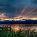 Wörthersee sunset