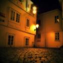 Noční Haštalské náměstí