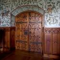 Interiérové dveře na hradě Bouzov