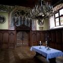 Rytířský sál na hradě Bouzov