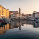 Morning in Piran port
