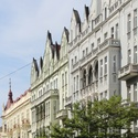 Momentka z Prahy - krásné domy