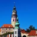 Český Krumlov a jeho věže